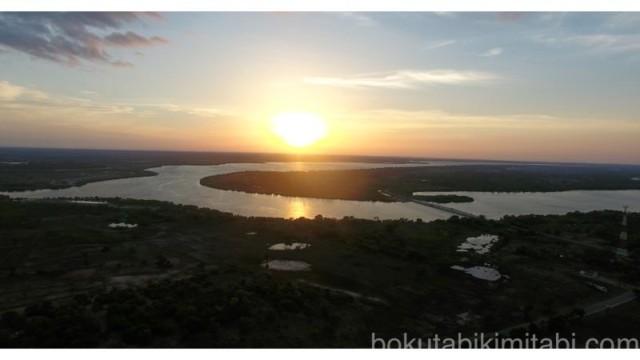 th_スリランカの夕日